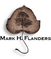 Mark Flanders Art and Photography Leaf Logo